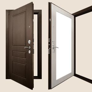 Дверь Гранит Ультра С4 Зеркало - Официальный сайт
